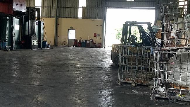 Khu xử lý chất thải Quang Trung
